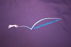 ARC Logo on Scrubs