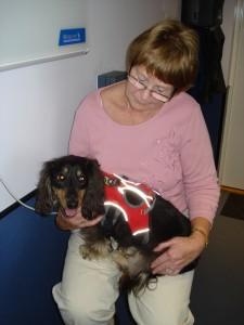 Shadow at Animal Rehabilitation Centre