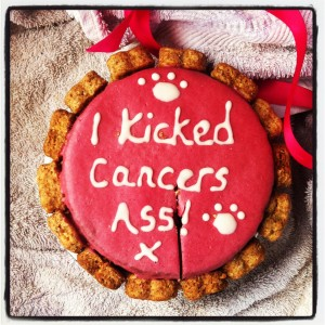 I kicked cancer's ass!